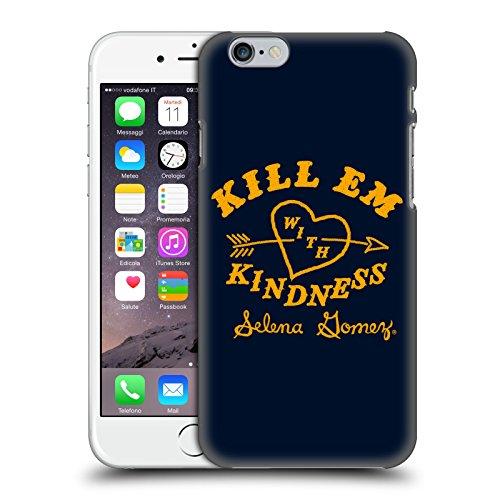 Officiel Selena Gomez Kill Em with Kindness Art De Reprise Étui Coque D'Arrière Rigide Pour Apple iPhone 6 / 6s