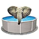 33 ft Round Pool Liner Pad, Elephant Guard Armor