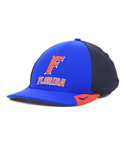 f6242630 Image Unavailable. Image not available for. Color: NIKE Florida Gators NCAA  Conference Legacy 91 Team Color Charcoal Hat M/L Dri Fit