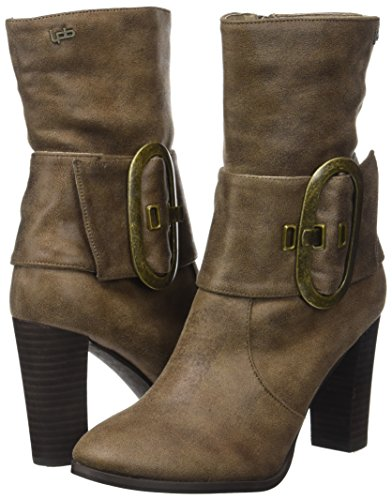 Mujer P'tites Les Botines Beige Bombes taupe Fanny ITqCZ