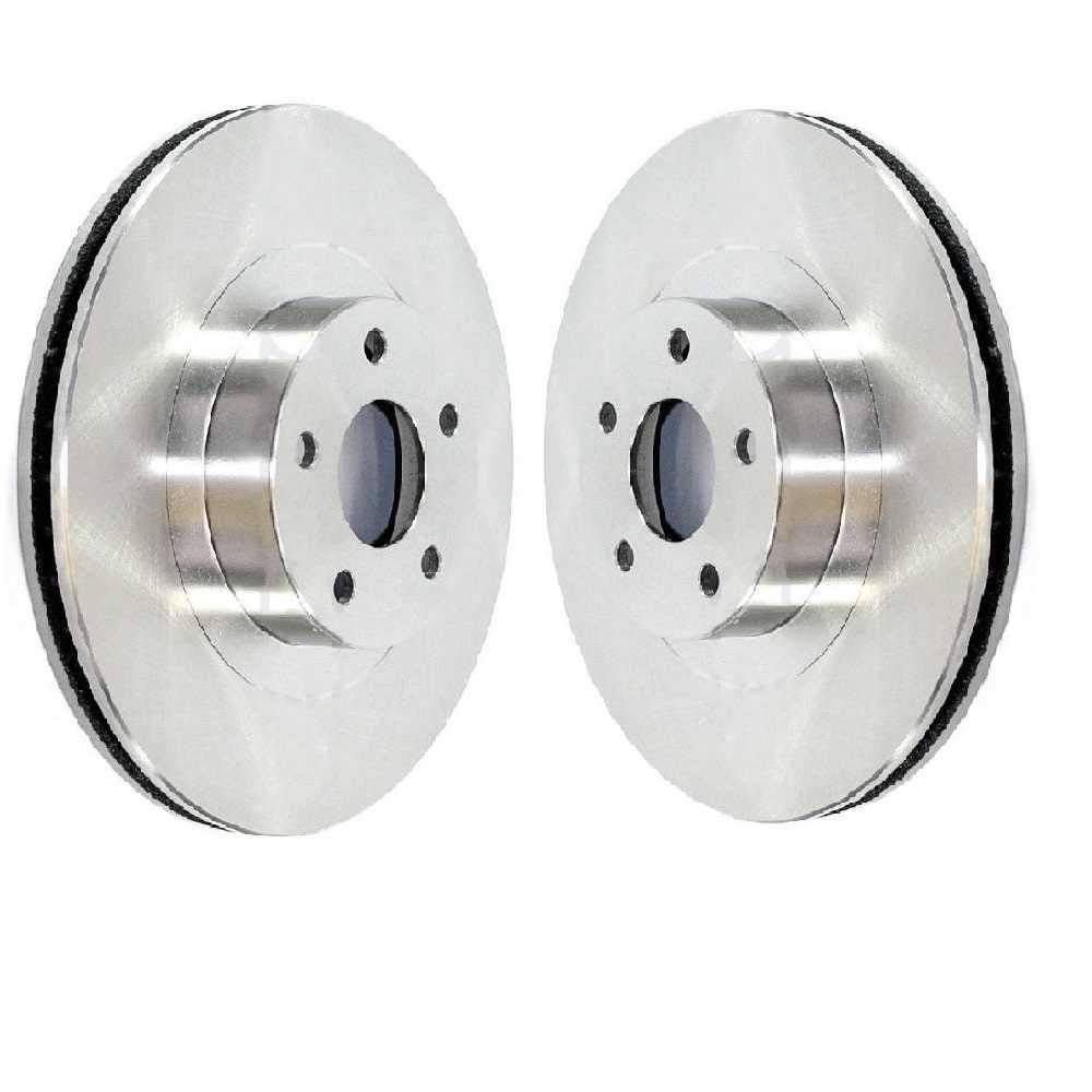 Prime Choice Auto Parts R63007PR Front Brake Disc Rotor Pair