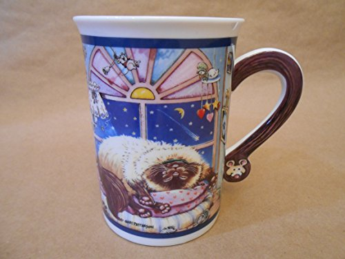 Gary Patterson Mouser Comical Cats Porcelain Collector Coffee Tea - Mouser Cats