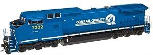 HO Dash 8-40CW w/DCC & Sound, CSX/CR Quality #7302