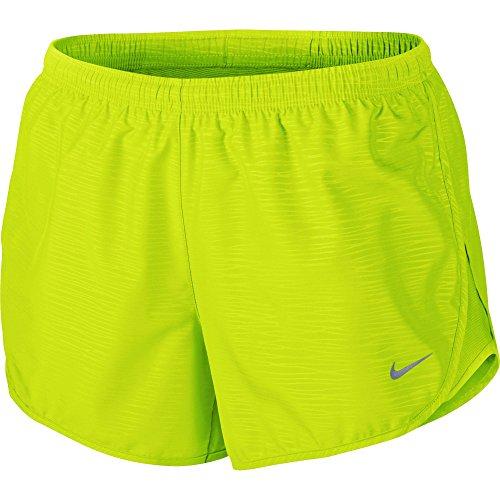 [Women's Nike Dry Tempo Running Short Volt/Volt Ice Size Medium] (Dri Fit Tempo Running Shorts)