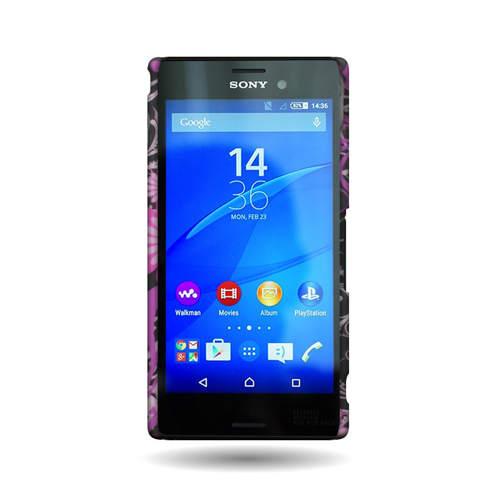 Amazon.com: coveron® de policarbonato para Sony Xperia M4 ...