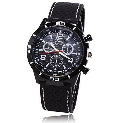 Field Watch Military Expedition (Lookatool® 2016 New Men Military Watches Sport Wristwatch Silicone Fashion Hours Quartz Watch)