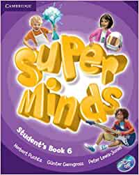 Super Minds Level 6 Student's Book with DVD-ROM Book & DVD