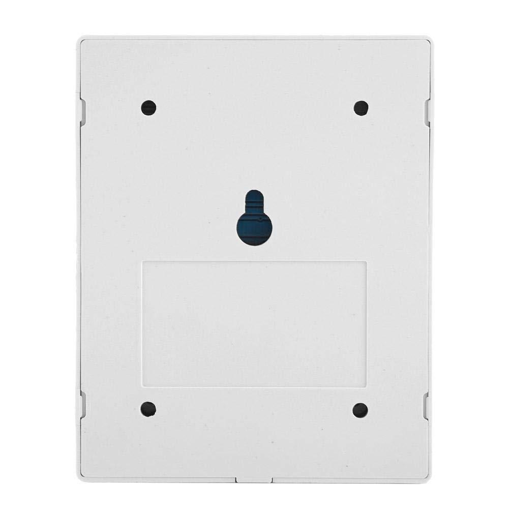 CA 220V 433 MHz Interruptor de control remoto inal/ámbrico de 4 canales L/ámpara el/éctrica Bomba de agua Control remoto con m/ódulo de rel/é y carcasa Control remoto