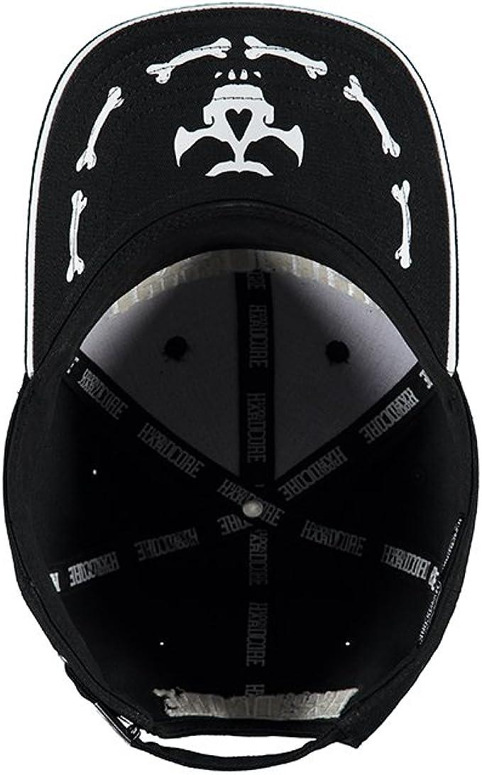 100% HARDCORE - Gorra de béisbol - para hombre negro y blanco ...