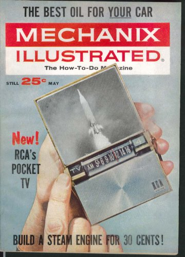 Rca Pocket - MECHANIX ILLUSTRATED Mercury Marauder road test RCA Pocket TV 5 1963