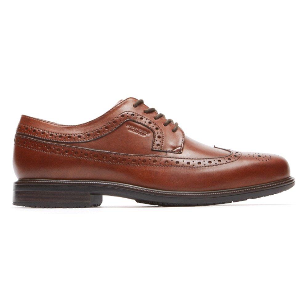 Rockport Men's Esntial DTL Ii Flügelspitze Schuhe, Schuhe, Flügelspitze 46.5 EU, Tan Antique 439bcf