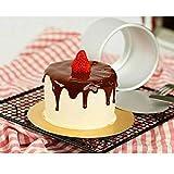 HANSGO Mini Round Golden Cardboard Cake
