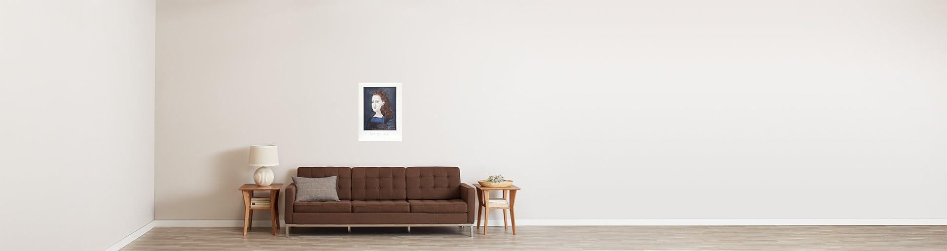 Amazon.com: Femme a la Collerette Bleue: Pablo Picasso: Fine Art