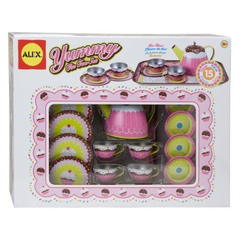 Cheap ALEX Toys Yummy Tin Tea Set for sale