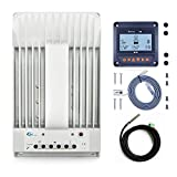 30amp 40amp MPPT Solar Charge Controller +Remote Meter MT50 Monitor+Temp.Sensor PowMr (4215BN+MT50+RTS)