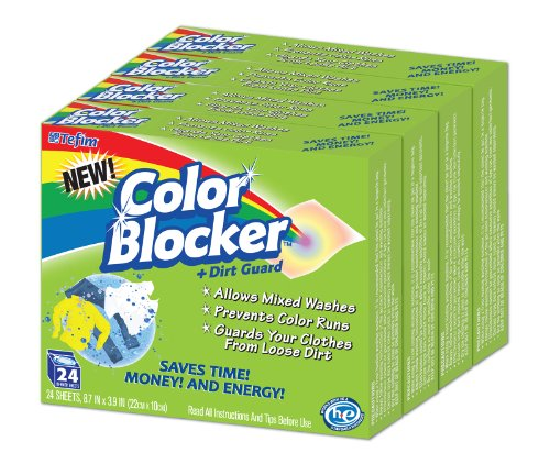 (Color Blocker Dye-trapping, In-wash Cloths - 24 Each (4 Pack))