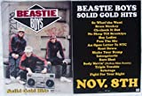 Beastie Boys - Solid Gold Hits - Two Sided Poster - New - Rare - Mike D - Mike Diamond - MCA - Adam Yauch - Ad-Rock - Adam Horovitz - Hey Ladies - Root Down - Sure Shot - No Sleep Til Brooklyn - Sabotage - Pass The Mic - Fight For Your Right - Brass Monkey - Capitol