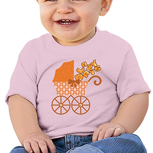 Baby T-Shirt,Lazy Town,Fridays Happy Hour Lazy Days Happy Hour UBaby Boy Girl Short Sleeve T-Shirt Tops Casual Outfit 6M Pink