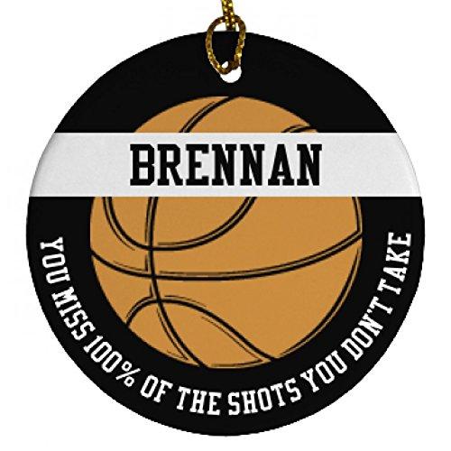 brennan-basketball-player-gift-porcelain-circle-ornament