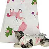 JIAN YA NA Professional Cat Recovery Suit for Abdominal Wounds and Skin Diseases E-Collar Alternative Cat Sterilization Surgical Suit After Surgey Wear (M(for cat 2.5-4 kg), Pink)