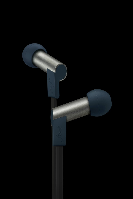 Final Audio Design Heaven II Gris Bleu Balanced Armature Earphones, Gris Bleu
