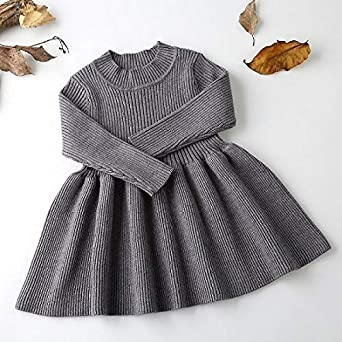 4e582784a8f49 Amazon.com: YoungG-3D Baby Dresses for Girls Autumn Winter Long ...