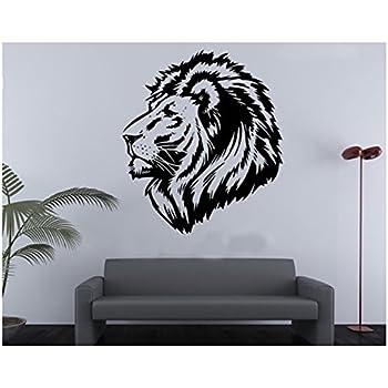 PVC Wall Stickers Lion King Wall Size Animal Decal Vinyl Decor Wallpaper  Sticker