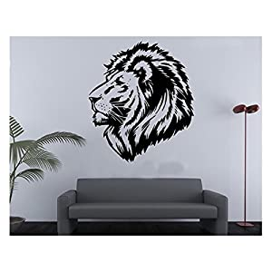 Lion Head Wild Animal Cool Car Stickers Boys Room Wall Sticker Living Room  Wall Stickers Decor Part 78