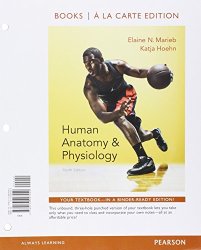Human Anatomy & Physiology, Books a la Carte Edition; Mastering A&P with Pearson eText - ValuePack Access Card -