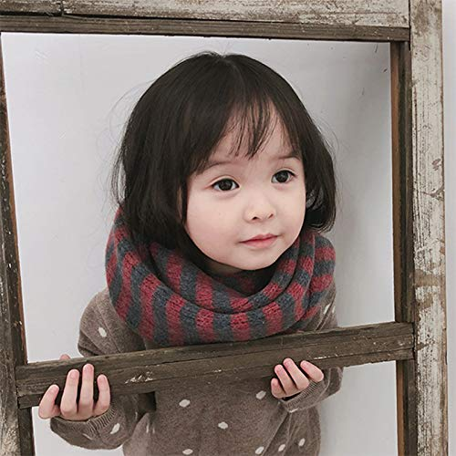 für Schal bleiben für den Cdet Schlauchschal Kinder Stricken Warm ...