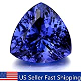 10mm Beautiful Blue Tanzanite AAA Stunning Trillion Cut Loose Gemstone