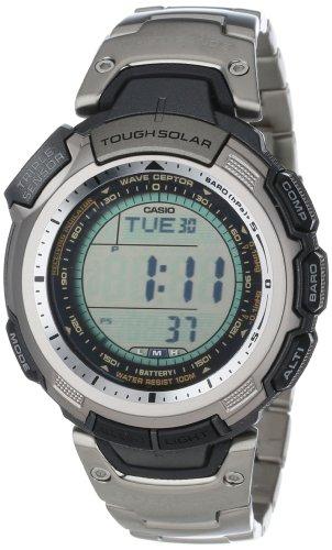 Titanium Chronograph Alarm 100m Watch - 8