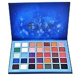 theatrical hair dye - Honhui 35 colors blue marble star Palette Makeup Natural Shimmer matte eyeshadow