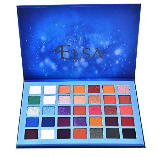 Honhui 35 colors blue marble star Palette Makeup Natural Shimmer matte eyeshadow ()