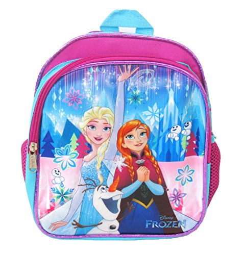 "Disney Frozen Toddler Backpack - Small 10"" Backpack - Elsa, Anna, Olaf"