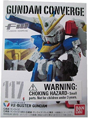 FW Gundam Converge 20 V2-Buster Gundam LM314V23 #117 Mini Trading Figure