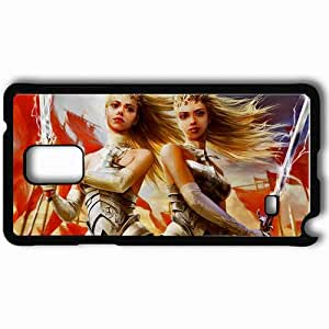 Personalized Samsung Note 4 Cell phone Case/Cover Skin A9 Black