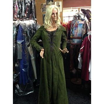 Traje medieval mujer dama del bosque: Amazon.es: Juguetes y ...