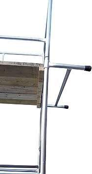 Classic andamio 182,88 cm soporte de pared para Escalera: Amazon.es: Bricolaje y herramientas