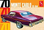 AMT AMT928 1:25 Scale 1970 Chevy Monte Carlo Plastic Model by Amt