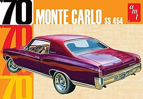 Amazon Com Amt Amt928 1 25 Scale 1970 Chevy Monte Carlo Plastic