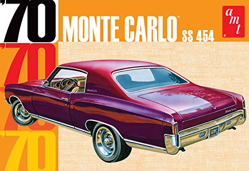 Monte Carlo Model Kit - AMT AMT928 1:25 Scale 1970 Chevy Monte Carlo Plastic Model