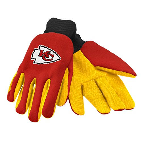 Forever Collectibles 74225 NFL Kansas City Chiefs Colored Palm Glove
