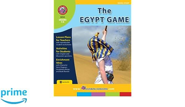 The Egypt Game (Novel Study): Marci Haines: 9781553199717: Amazon ...