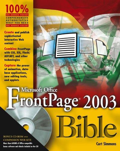 Microsoft Office FrontPage 2003 Bible Pdf