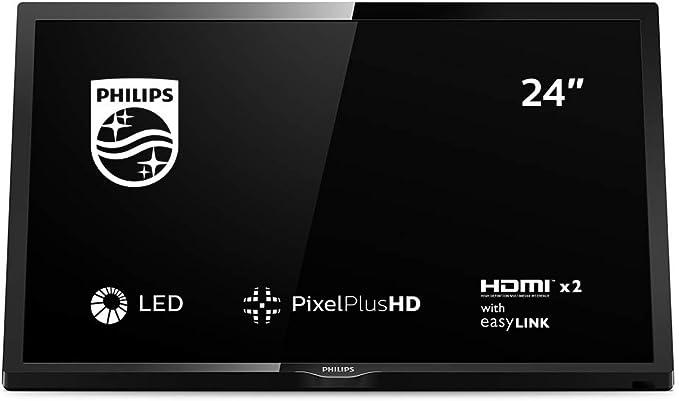 Philips 24PHS4304, Televisor, 1, Multicolor: Philips: Amazon.es: Electrónica