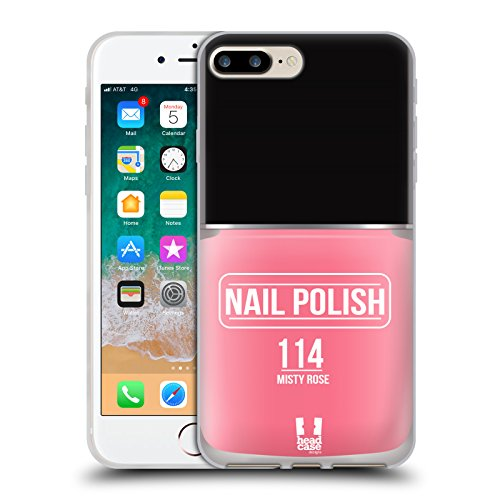 Head Case Designs Misty Rose Nail Polish Soft Gel Case for i