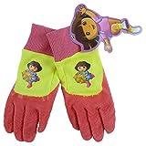 Dora the Explorer Toddler's Gripping Gardening Gloves - Pink/Yellow