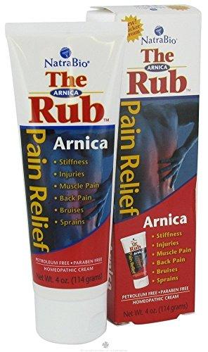 Natra-Bio - Arnica Rub 4 Oz, 2 Pack by Natra-Bio