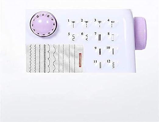 Yuaer Máquina de coser portátil con máquina de bordar de doble ...